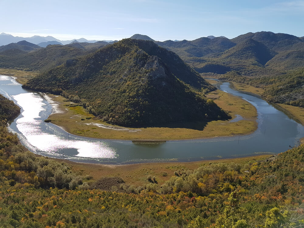 Znamenita Pavlova strana, Skadarsko jezero, Črna gora